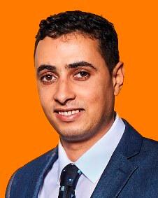 Portrait des Mitarbeiters Fateh Arab