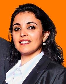 Portrait der Mitarbeiterin Kahina Alzayed